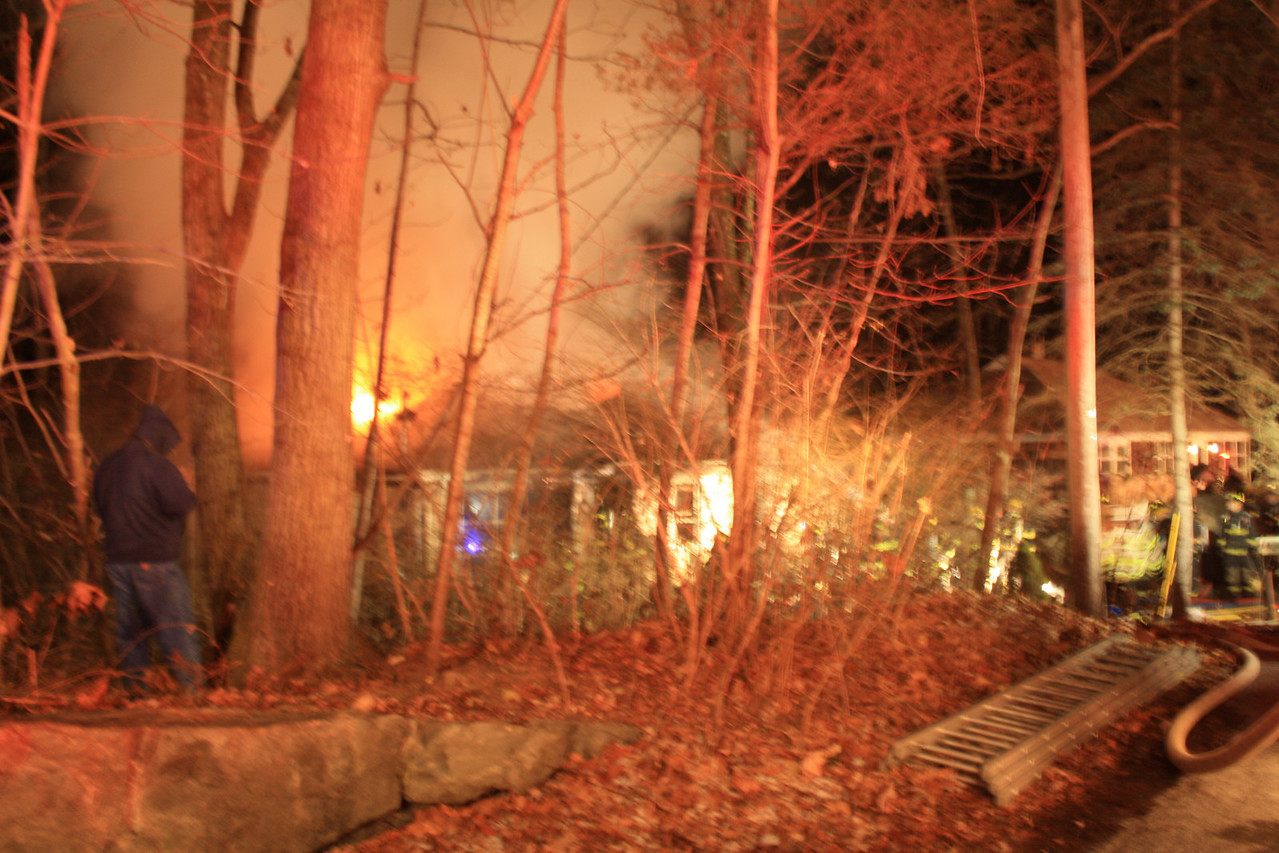 Two Alarm Fire Destroys Bryam Township Home